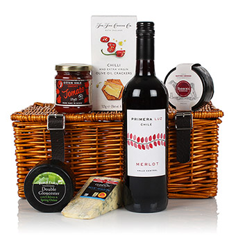 Cheese & Fine Wine Hamper